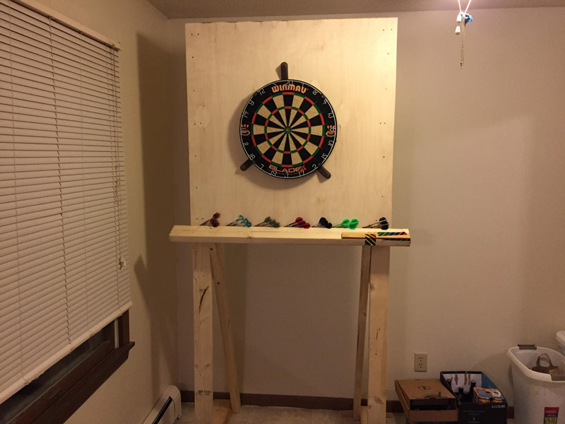 How to Set up a Dart Board on Your Own