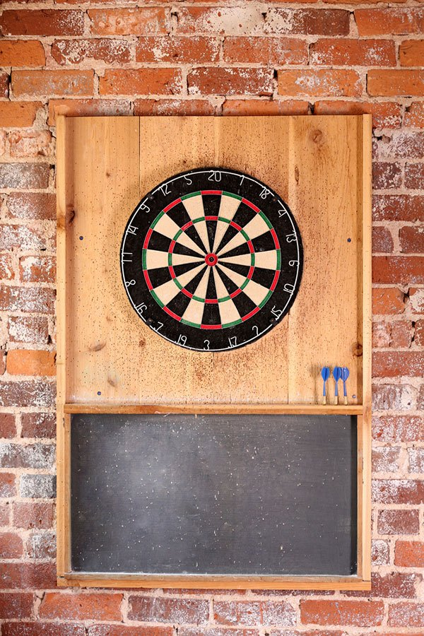 best material for dart board backboard
