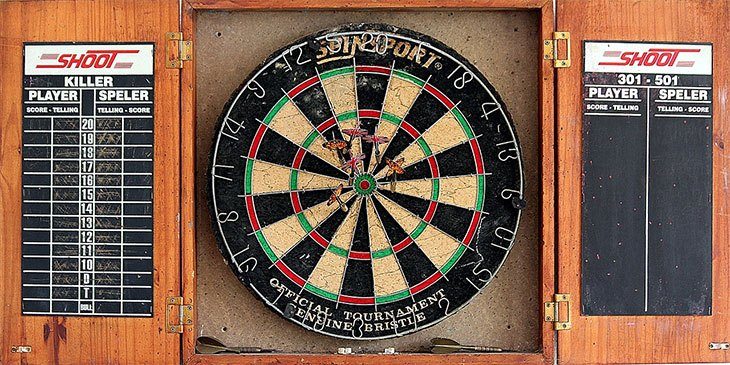 how to maintain your dart board