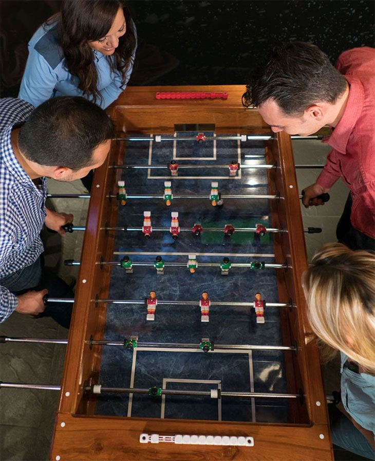 best home game room games: foosball table game