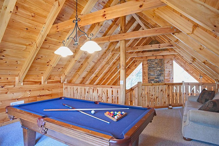 top game room games - pool table