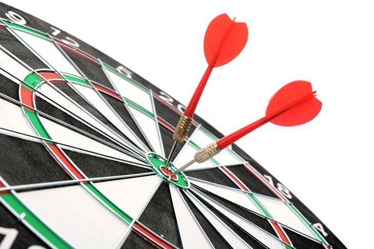 how to aim darts like a pro