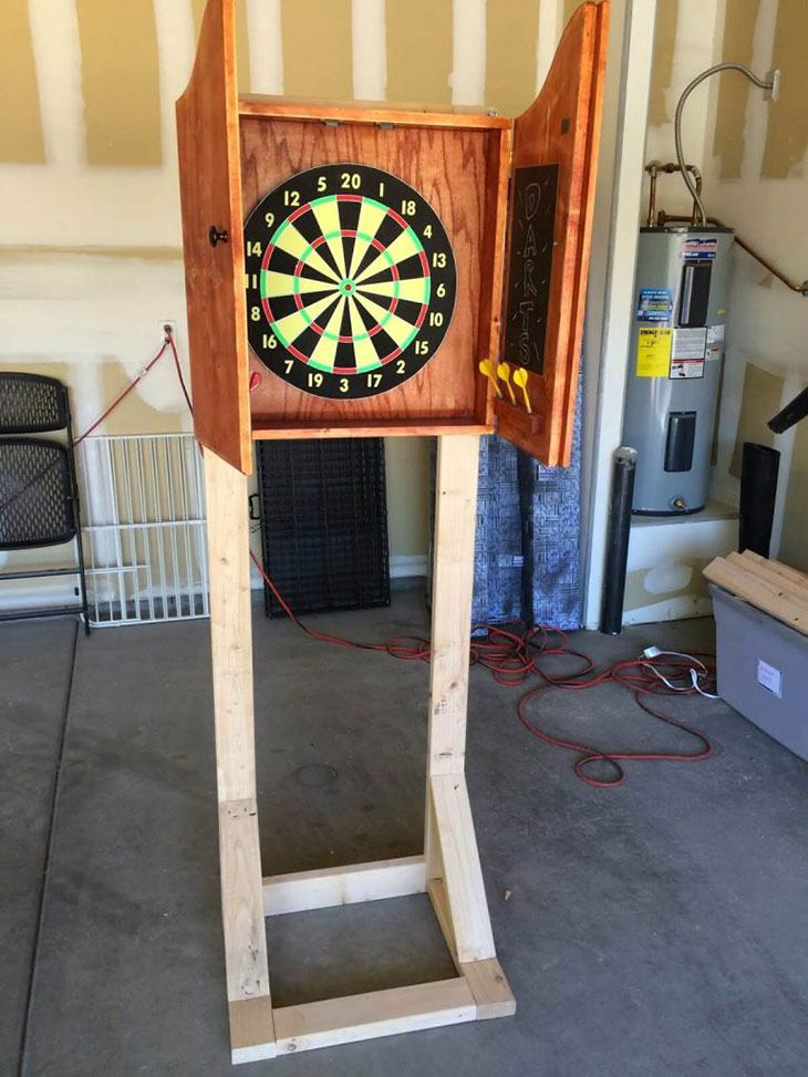 best dart board stand uk