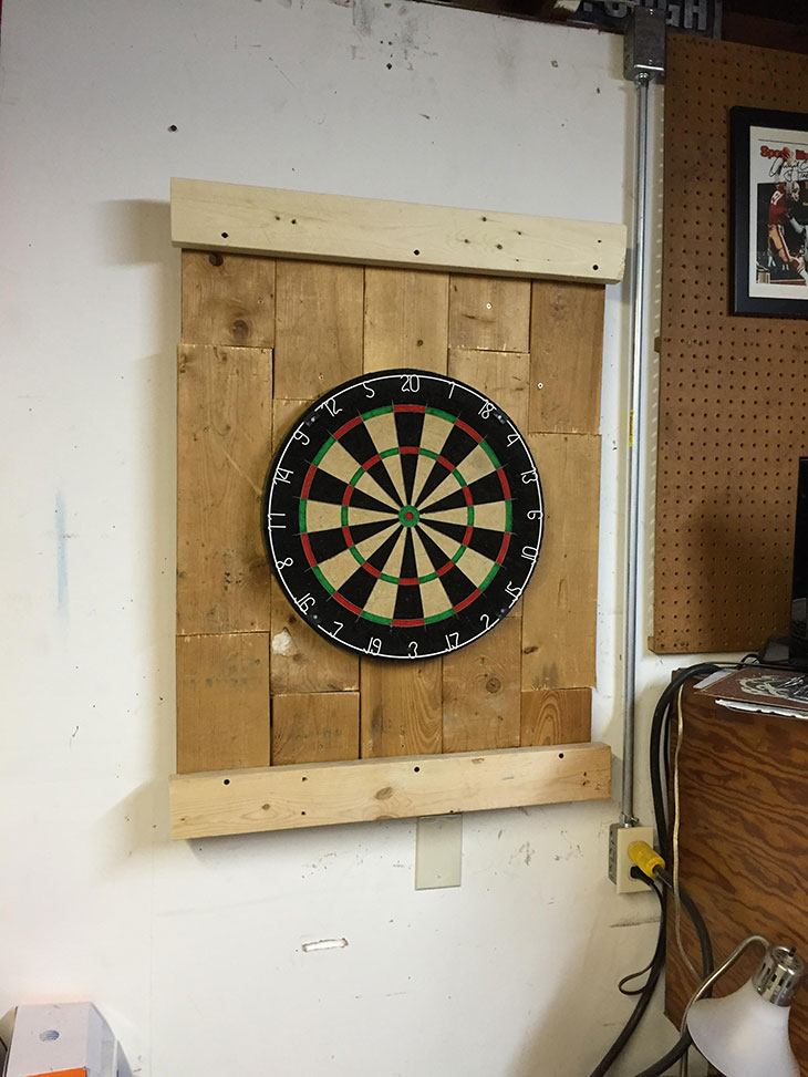 how to protect your wall from darts