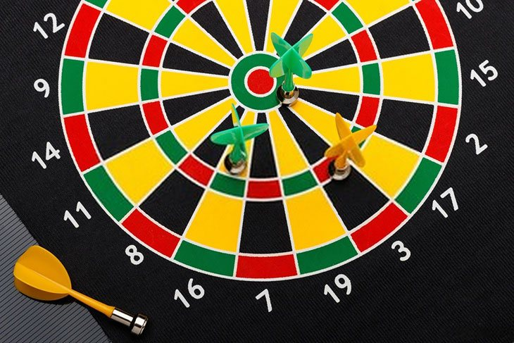 best quality magnetic dart board