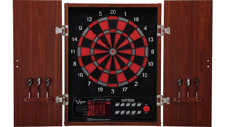viper 800 electronic soft tip dartboard reviews