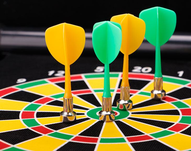 best magnetic dart board for adults