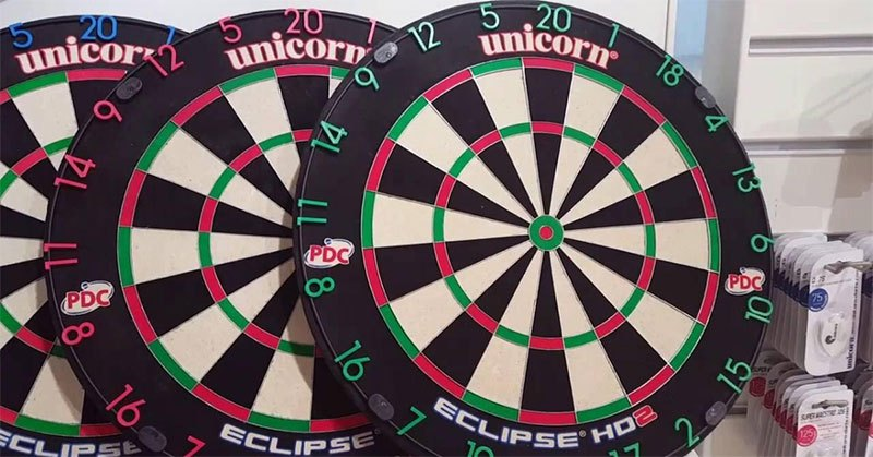 numbers on the dartboard