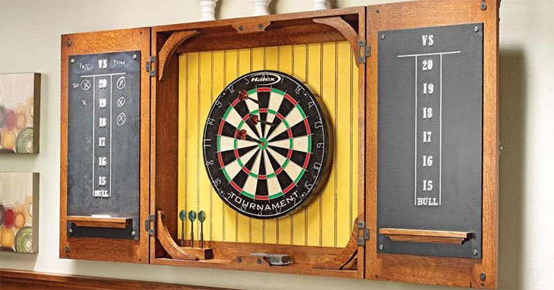 what do people use to protect wall from darts