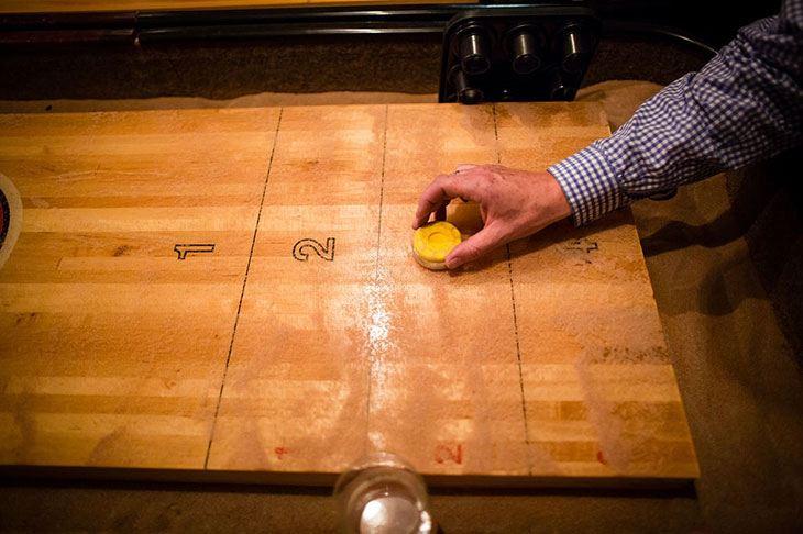 best 12' shuffleboard table