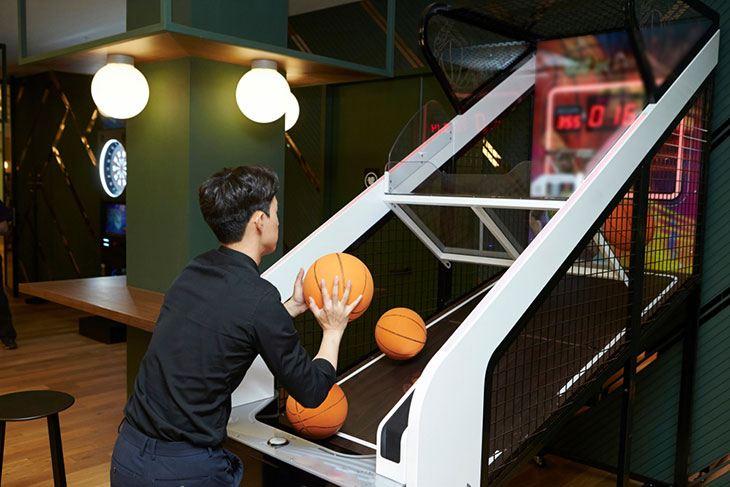 top basketball arcade game