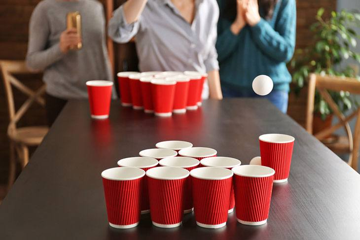 best custom beer pong tables