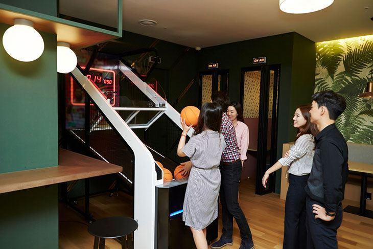 best dual basketball arcade game