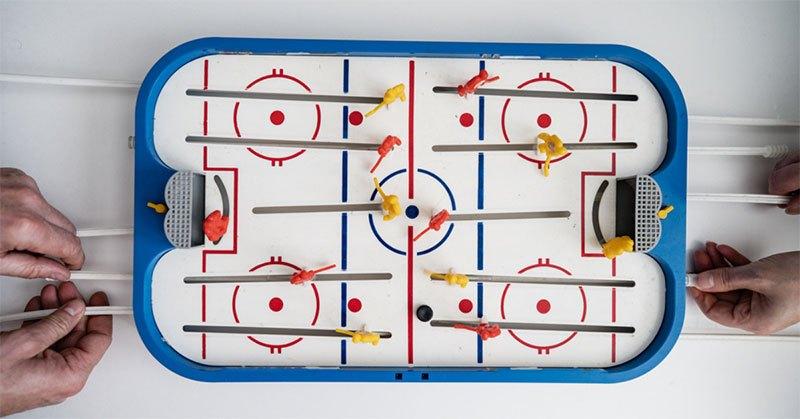 best tabletop air hockey