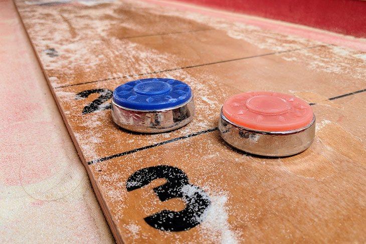 best shuffleboard table wax