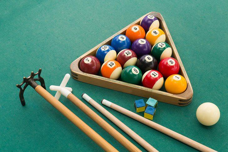 best folding pool table 6ft
